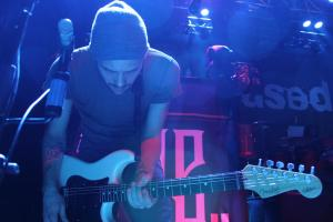 The Used's guitarist Quinn Allman.Photo by Brian Ossip, DC Music Live