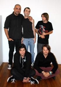 The band's first official band photo of 2013.Photo Courtesy of Finch, photo by Charles Epting