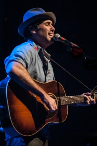 "Opener Joshua Radin opened for Matt Nathanson on his ""The Last of the Great Pretenders"" tour Photo by Sara Spangler"